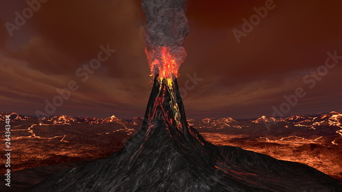 Valokuva  火山