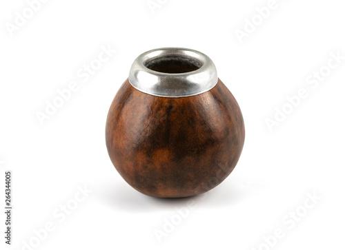 Fotografía Calabash gourd on white background