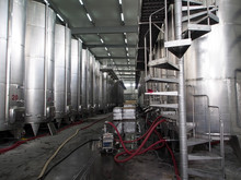 Premises For Wine Production At A Winery In Georgia
