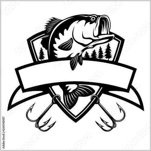 Fotografía Fishing logo