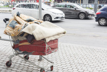 Homeless Shopping Cart