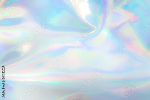 Stampa su Tela pastel colored holographic background