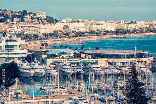Photo City of Cannes on the French Riviera