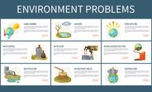 Environmental Problems Vector,...