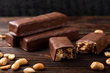 Chocolate Bar With Caramel And...
