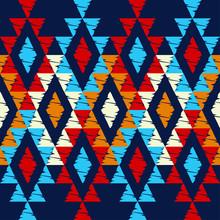 Ethnic Boho Seamless Pattern. ...