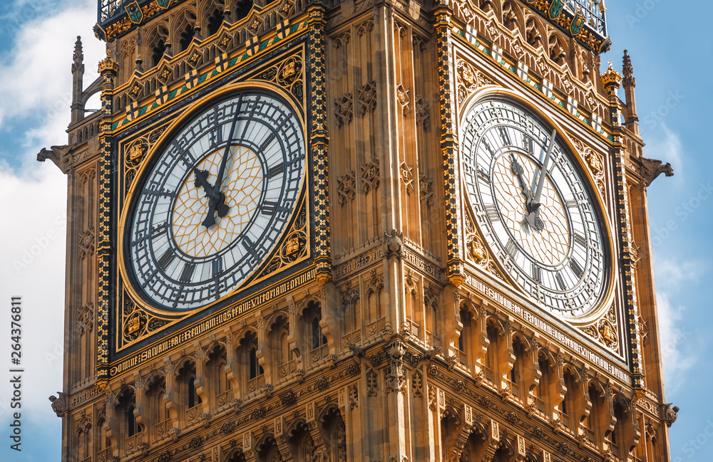 Fototapeta Big Ben (Elizabeth Tower) in London
