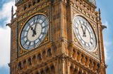 Fototapeta Big Ben - Big Ben (Elizabeth Tower) in London