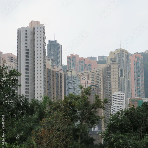Printed kitchen splashbacks Khaki Hong Kong, architecture and streets added in March 2019