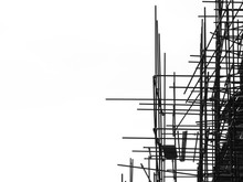 Silhouette Scaffolding Element...