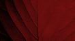 Leinwandbild Motiv red leaf texture background ( teak leaf )