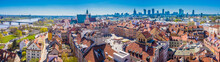 Cityscape With Old City Roofs ...