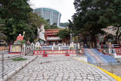 Fotografie, Obraz Hong Kong, Apirl 17, 2019, Tin Hau Temle at Repluse Bay, Hong Kong