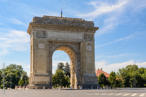 Photo triumph arc Bucharest