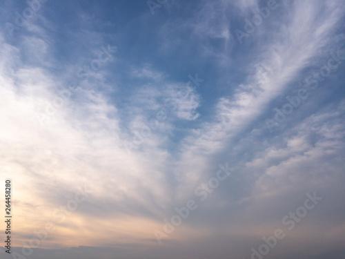 Canvas Prints Heaven Evening sky, sunset