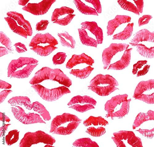Cuadros en Lienzo Lips Vector