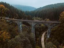 Bridge Across Forest Path