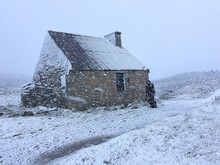 House In A Snow Storm