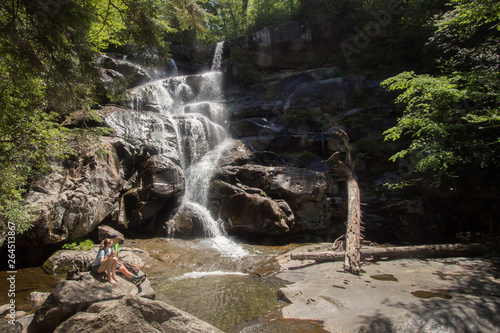Ramsey Cascades - Great Smoky Mountains National Park - Gatlinburg Tennessee Wallpaper Mural