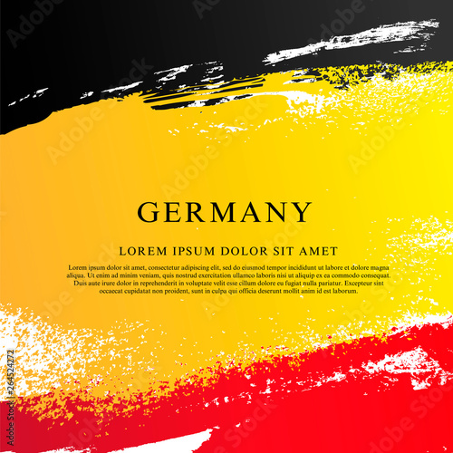 Photo  German flag. National Unity Day of Germany.