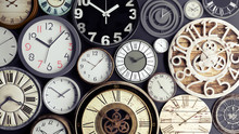 Time Concept, Bunch Of Watches...