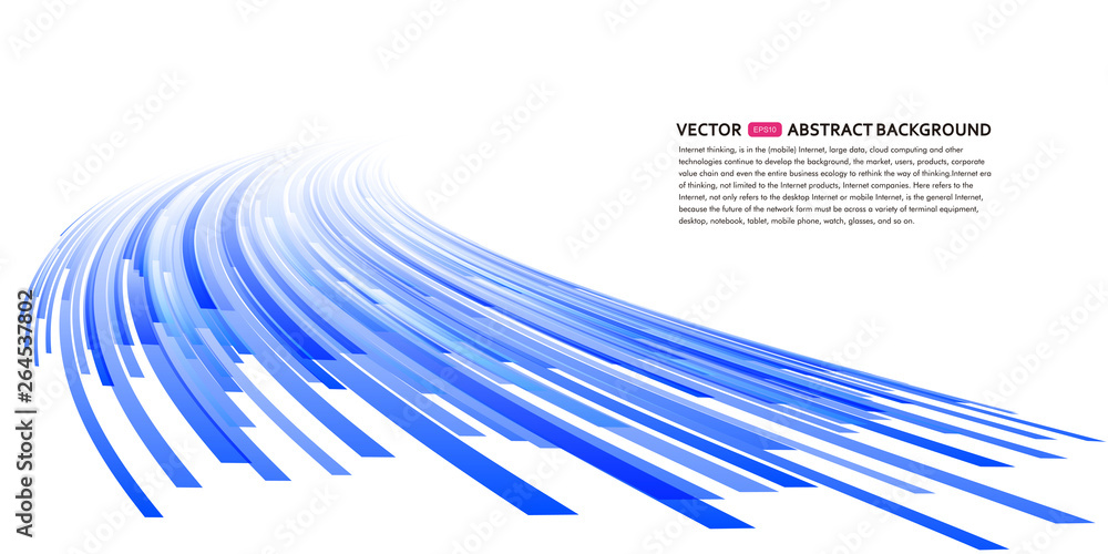 Fototapety, obrazy: Abstract perspective background illustration, vector glowing background illustration
