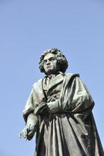 Beethoven Denkmal In Bonn, Deutschland