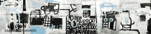Door stickers Graffiti Graffiti