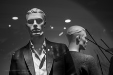 Male Fashion Mannequin In The ...