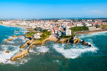 Biarritz Aerial Panoramic View...