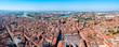 Toulouse aerial panoramic view, France