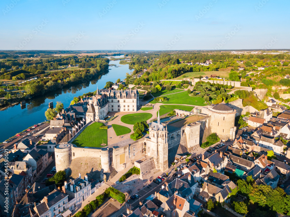 Fototapety, obrazy: Chateau Amboise, Loire valley, France