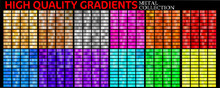 Set Of Colorful Gradients