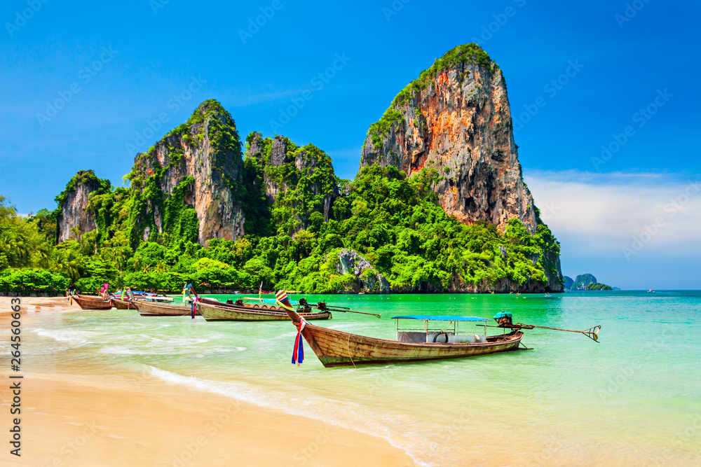 Fototapety, obrazy: Clear water beach in Thailand