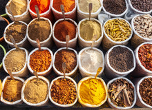 Spices At The Market, Goa