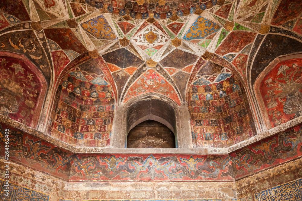 Fototapety, obrazy: Taj Mahal geometric pattern background
