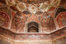 Taj Mahal Geometric Pattern Background