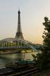 Torre eifel de paris bonito panorama