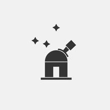 Planetarium Vector Icon