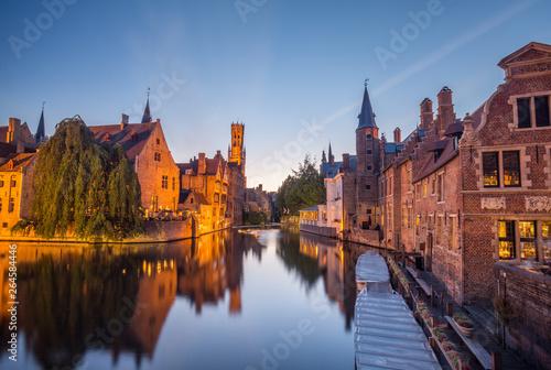 Poster Bridges Europe trip Belgium
