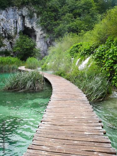 Fototapety, obrazy: plitvice lakes