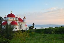 Greek Orthodox Monastery Of The Holy Apostles At Capernaum, Israel