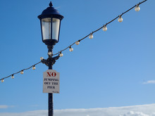 'No Jumping Off The Pier'