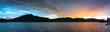 Tegernsee Panorama Sonnenuntergang