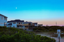 Beach Houses At The Outer Banks