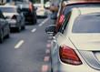 cars in street