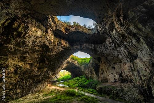 Fotomural  Devetashka cave, near Lovech city, Bulgaria