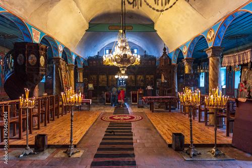 Photographie  Koprivshtitsa, Bulgaria -  The Dormition of the Mother of God church was built i