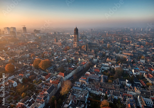 Photo  Aerial of Utrecht city center