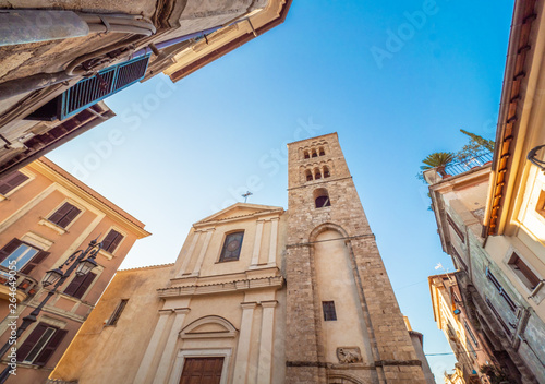 Anagni (Italy) - A little medieval city in province of Frosinone, famous to be the City of the Popes; it has long been the residence of the Pope of Rome Tapéta, Fotótapéta